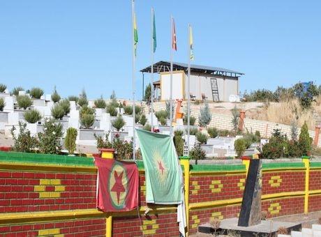 İşte PKK mezarlığının görüntüleri 4