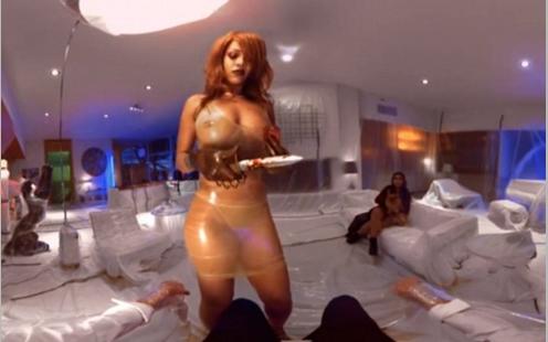 Rihanna'dan iddialı klip 2