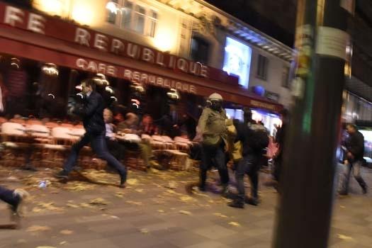 Paris'te patlama! 4