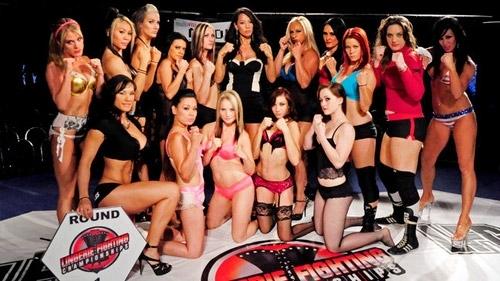 Kızların dövüş sanatı! Lingerie MMA 22