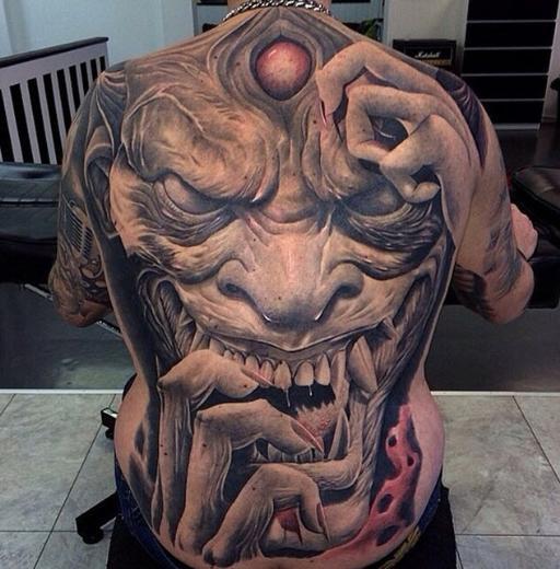 Dünyanın En korkunç Dövmeleri 11