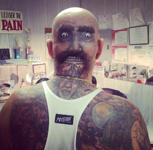 Dünyanın En korkunç Dövmeleri 21