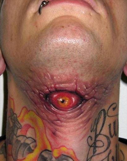 Dünyanın En korkunç Dövmeleri 29