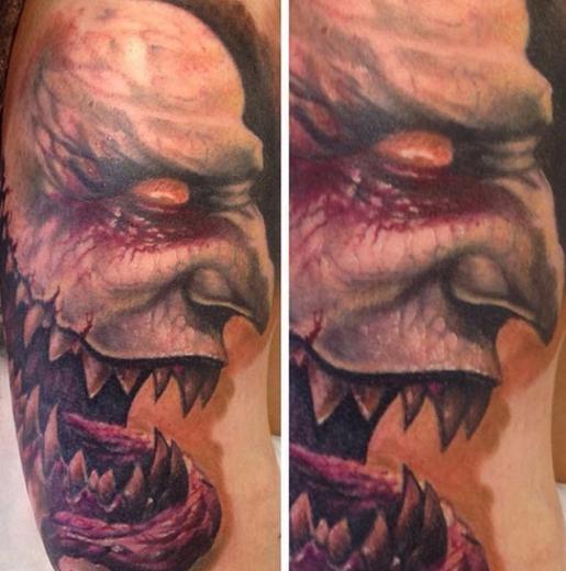 Dünyanın En korkunç Dövmeleri 8