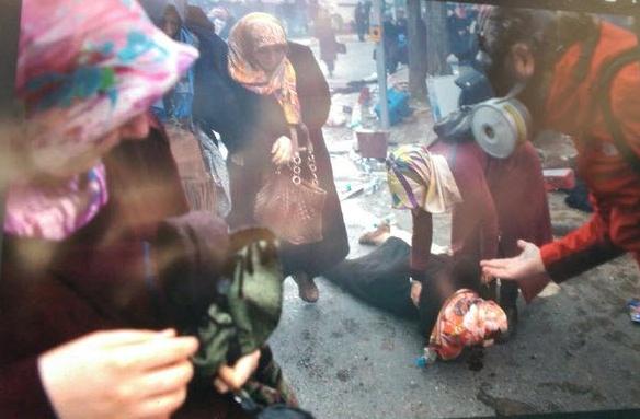 Zaman Gazetesinde Protesto Edenlere Polisten Sert Müdahale 2