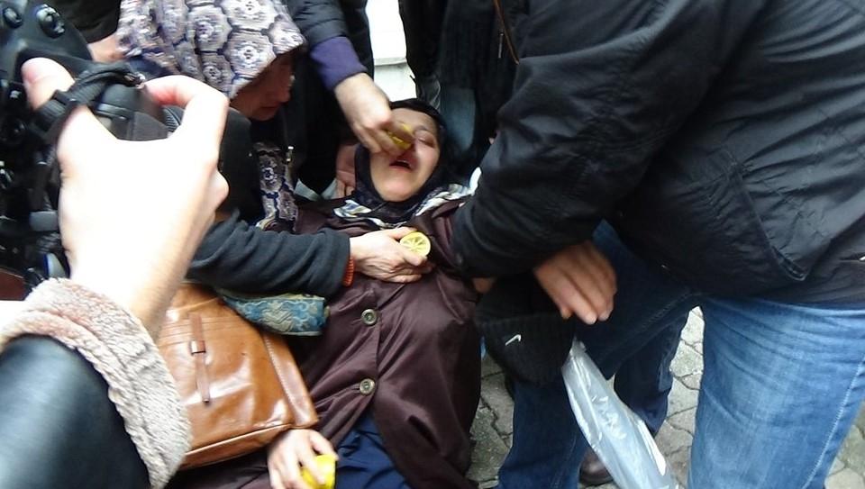 Zaman Gazetesinde Protesto Edenlere Polisten Sert Müdahale 4