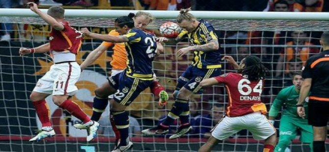 Galatasaray-Fenerbahçe derbisinde gol yok