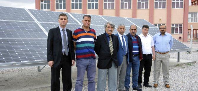 Selçuk'ta Güneş Enerjili Döneme İlk Adım