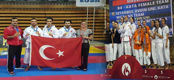 Zagreb'te karete şampiyonu Türk üniversitesi oldu