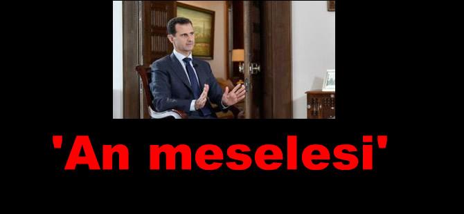 Esad: 'Savaşı kazanmamıza az kaldı'