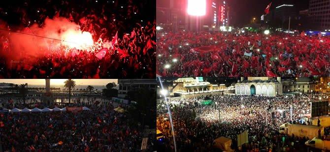 Türkiye meydanlarda: DARBEYE HAYIR