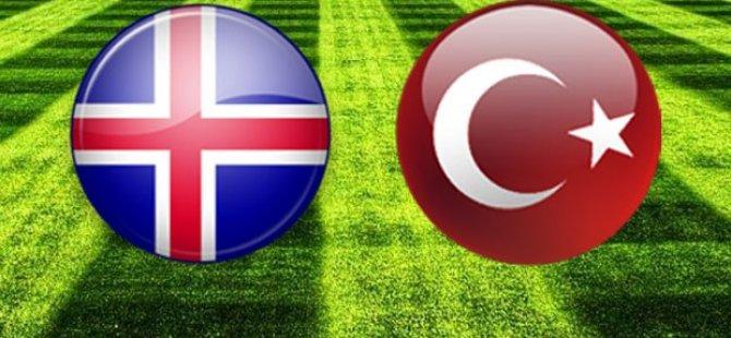 İzlanda 2-0 Türkiye; Maç Sonucu