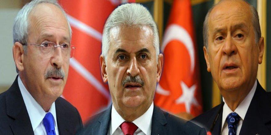 Liderlerden ortak 'terör' açıklaması