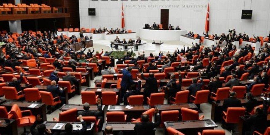 1. madde 345 oyla, ikinci madde de 342 oyla kabul edildi