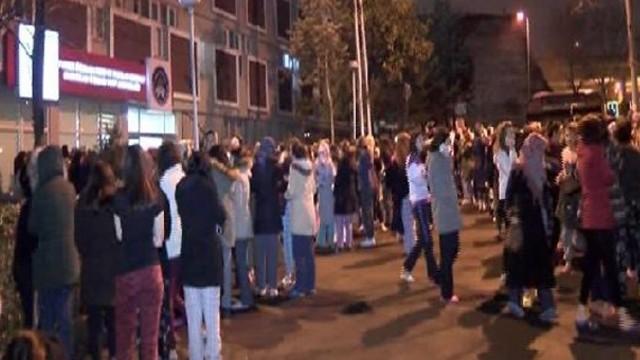 Edirnekapı Kız Öğrenci Yurdu'nda korkutan yangın