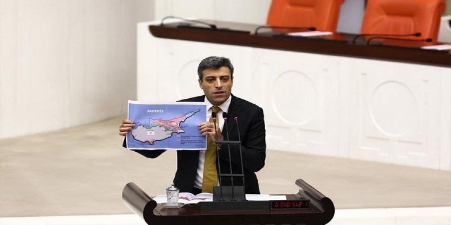 Meclis'te 'Kıbrıs'ı sattınız' tartışması