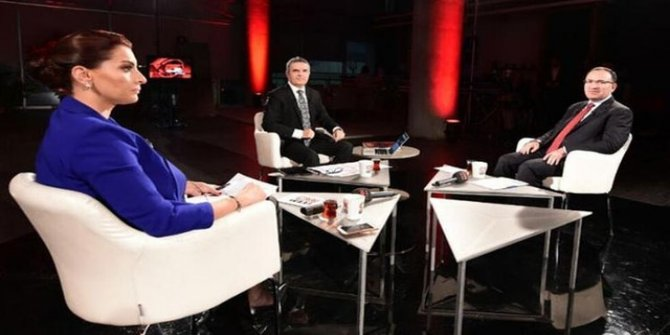 Hande Fırat'tan Bakan Bozdağ'a canlı yayında olay soru