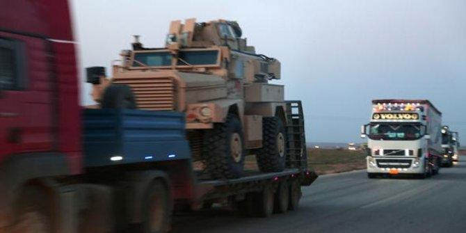 ABD'den PKK'nın uzantısına zırhlı araç