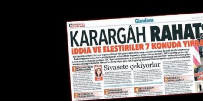 'Terör suçları' kapsamında İstanbul Cumhuriyet Başsavcılığına gönderildi