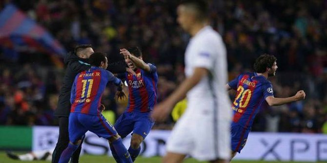 Barcelona 6 - 1 PSG