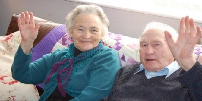 71 yıllık evli çift 4 dakika arayla öldü