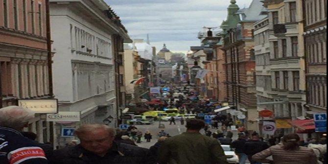 İsveç'te son dakika kamyonlu saldırı