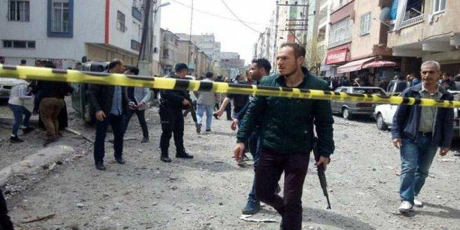 Diyarbakır'da şiddetli patlama meydana geldi.