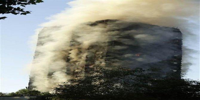 Londra'da 27 katlı binada yangın: En az 6 ölü ve çok sayıda yaralı var