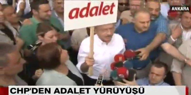 Kılıçdaroğlu ADALET yürüyüşünü başlattı!