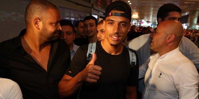 Fenerbahçe'nin yeni transferi Nabil Dirar İstanbul'da