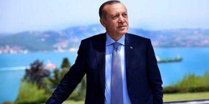 Cumhurbaşkanı Erdoğan'dan özel kareler