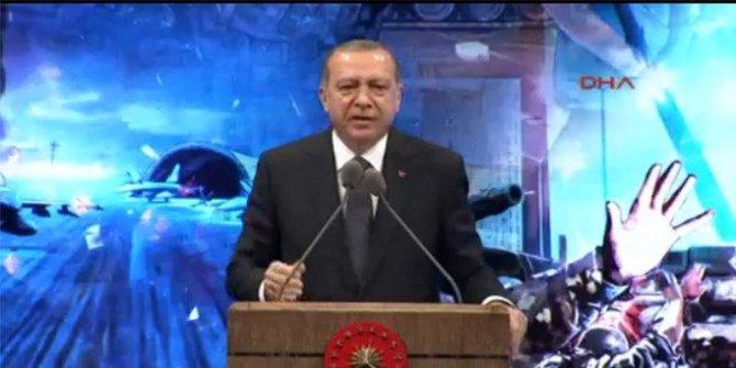 Erdoğan'dan tarihi konuşma: Ya olacağız ya öleceğiz