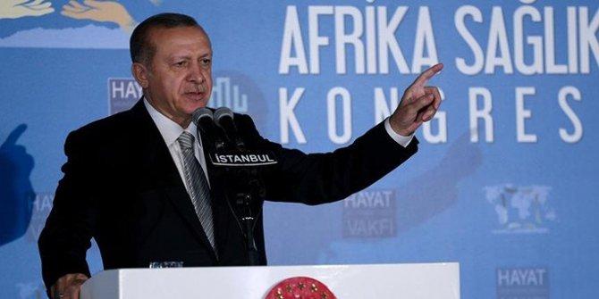 Cumhurbaşkanı Erdoğan: İbadetini yapana terörist diyemezsiniz