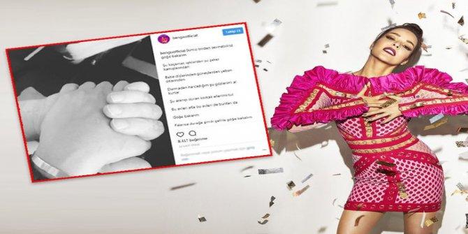 Bengü aşkını sosyal medyadan ilan etti!