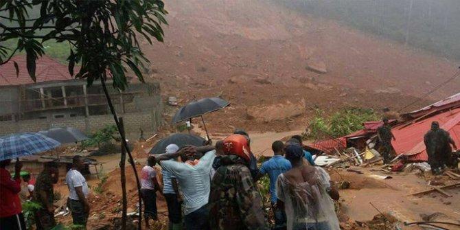 Sierra Leone'de toprak kayması! Yüzlerce kişi ölmüş olabilir