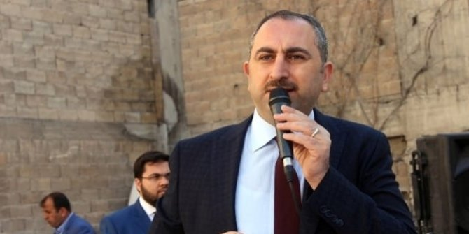 Adalet Bakanı Gül'den Almanya ve Adil Öksüz açıklaması