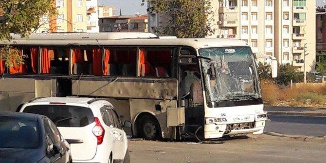 İzmir'de cezaevi servis aracına bombalı saldırı