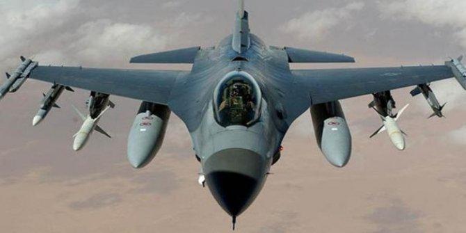 ABD'de F-16 uçağı düştü!