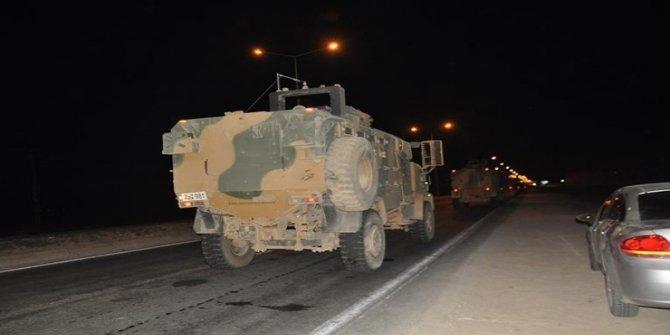 Son dakika! Sınıra çok sayıda askeri araç sevk edildi