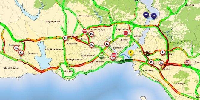 Okullar açıldı ve işte trafikte son durum