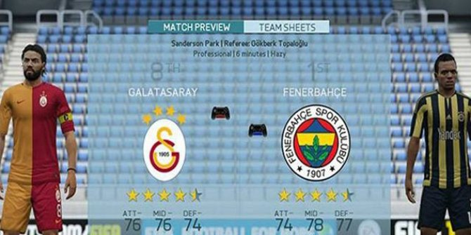 FIFA 2018'e göre derbide kazanan Fenerbahçe