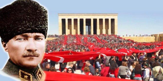 Atatürk'ü özlemle anıyoruz