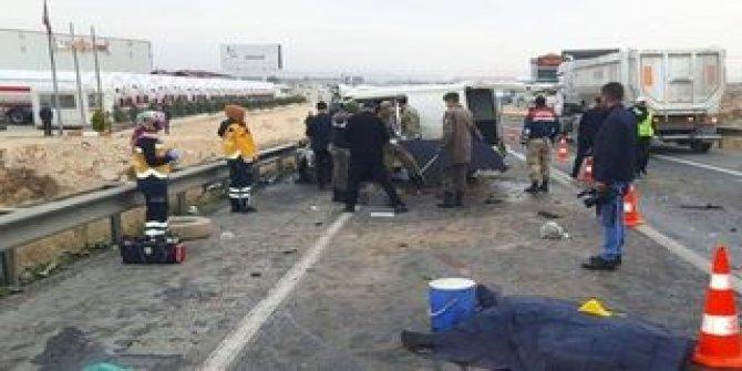 Son dakika! Gaziantep'te katliam gibi kaza: 5 ölü 3 yaralı