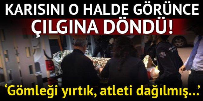 Eşi ve sevgilisini evde bastı! İstanbul'un göbeğinde dehşet anları