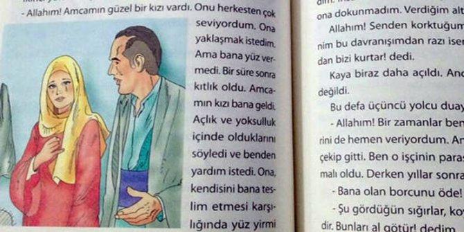 MEB kitabı: Alevilik perdesi altında ateist, Allah doktor olalım diye göndermedi