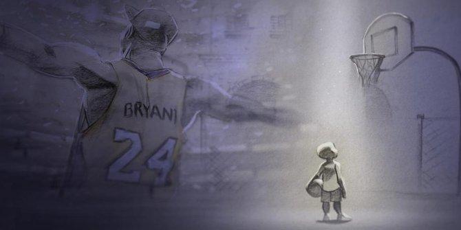 Kobe Bryant'ın animasyon filmi 'Dear Basketball' Oscar'a aday oldu
