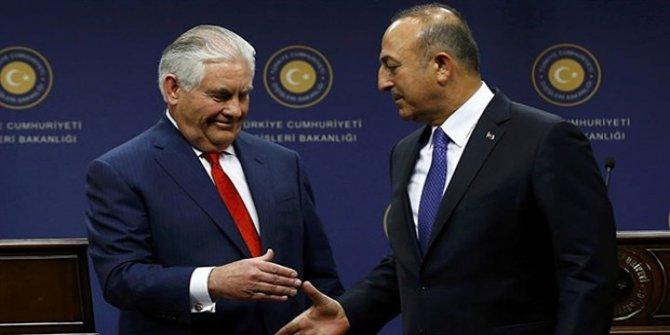 Çavuşoğlu, Paris'te ABD'li mevkidaşı ile görüştü