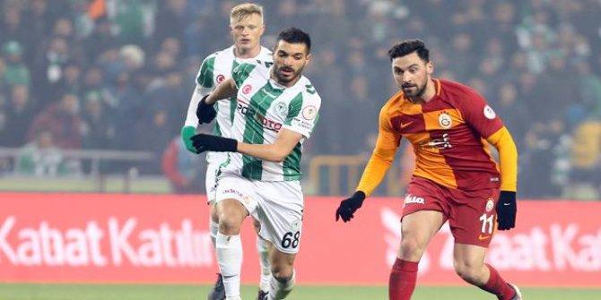 Konyaspor 2 - 2 Galatasaray (Maç özeti)