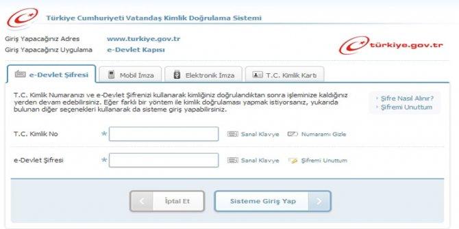 'e-devlet'teki soyağacı uygulaması askıda: Kısa süre içerisinde açılacak
