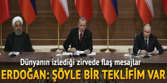 Son dakika... Erdoğan-Putin-Ruhani zirvesi sonrası önemli açıklama